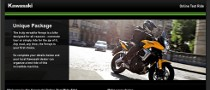Online Test Ride Booking from Kawasaki UK