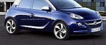 Opel Adam 5-Door Rendering