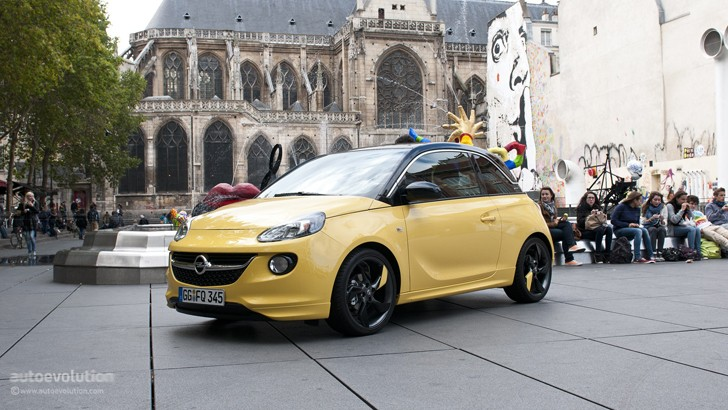 opel adam cabrio coming maybe in 2013 autoevolution. Black Bedroom Furniture Sets. Home Design Ideas
