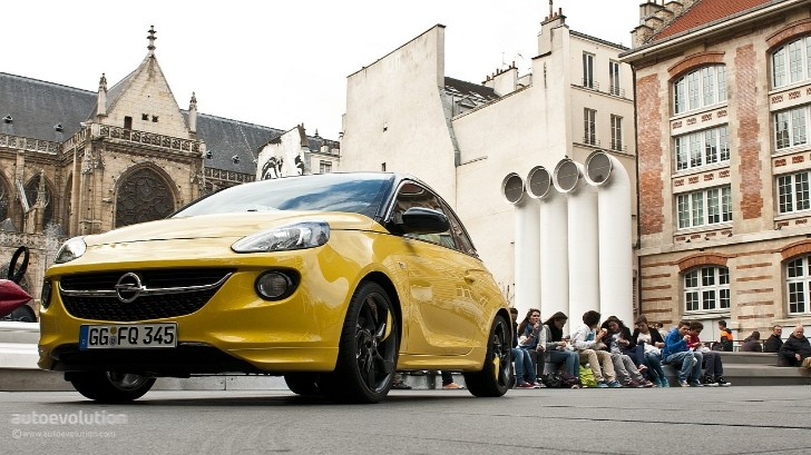 opel adam convertible to debut at 2013 geneva motor show. Black Bedroom Furniture Sets. Home Design Ideas