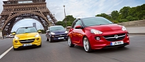 Opel Adam Photos Inverted to Please Vauxhall Fans