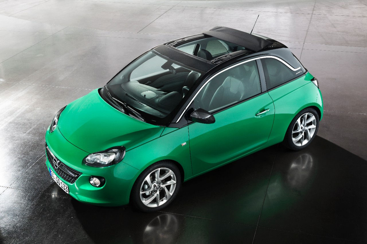 Opel Adam Receives Easytronic 3 0 Automatic And Swing Top Roof Options
