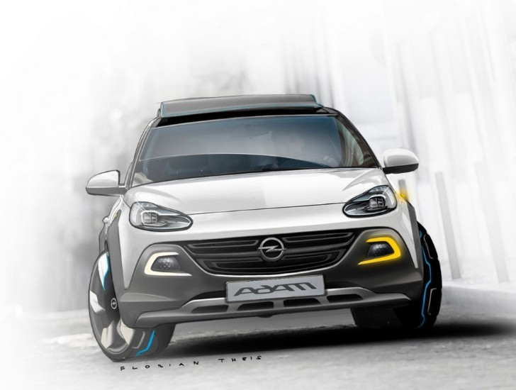 Opel Adam ROCKS Concept - When Tough Meets Cool