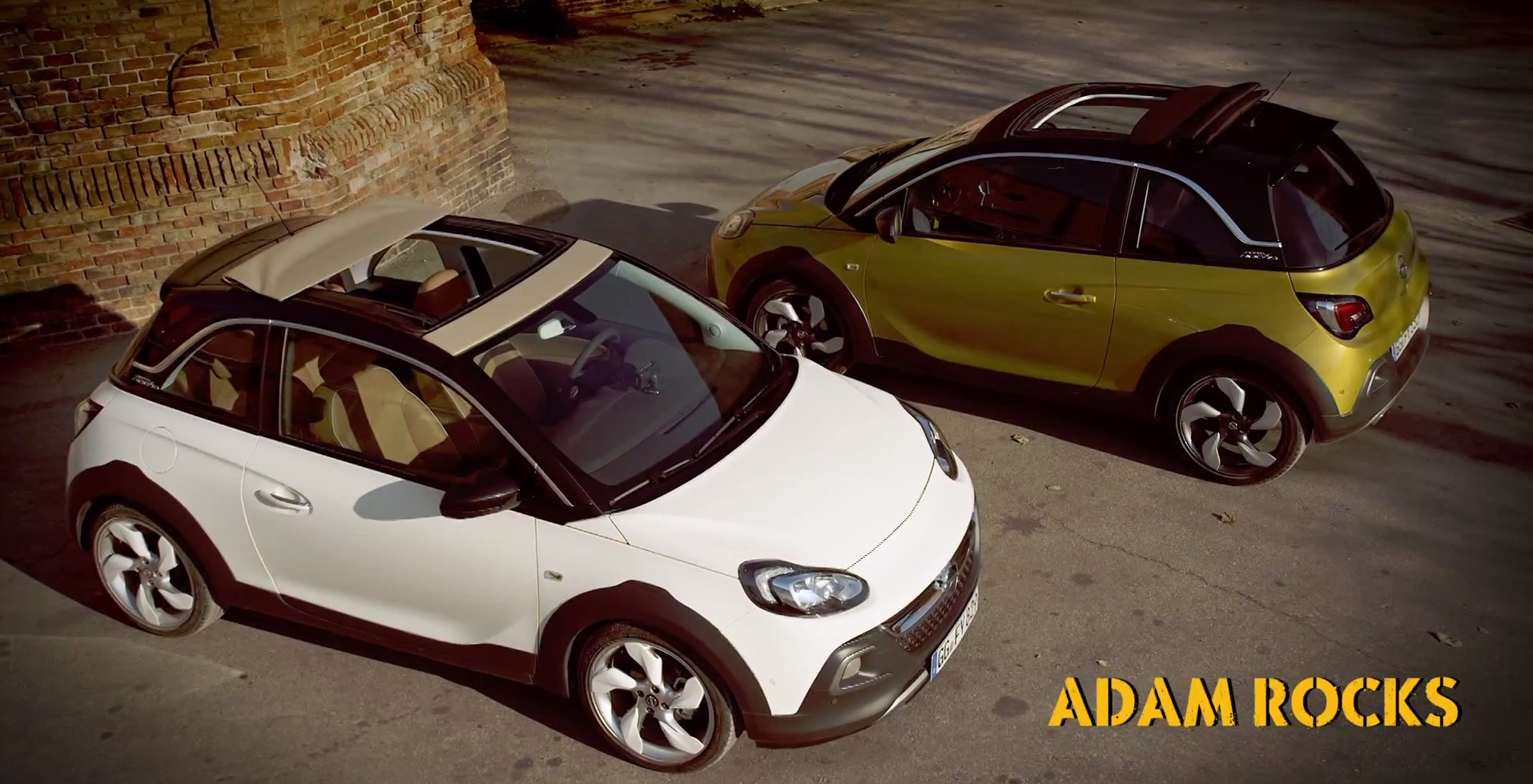 Opel Adam Rocks Fist Video Mixes The Chunky And Funky