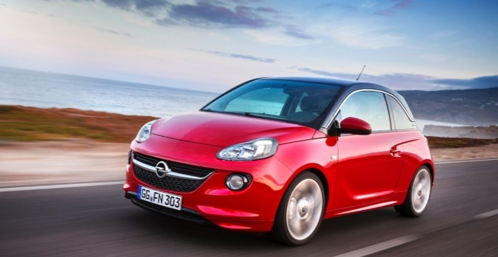 Opel Adam Wins Red Dot Design Award