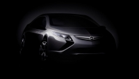 The first photo showing Opel Ampera