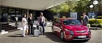 Opel and Europcar to Offer Ampera as Rental Car