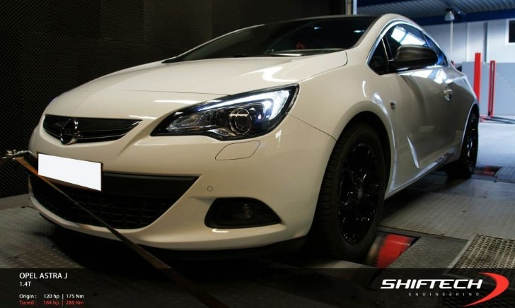 opel astra gtc 1 4 turbo tuned to 164 hp by shifttech. Black Bedroom Furniture Sets. Home Design Ideas
