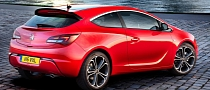 Opel Astra GTC Wins Red Dot Design Award
