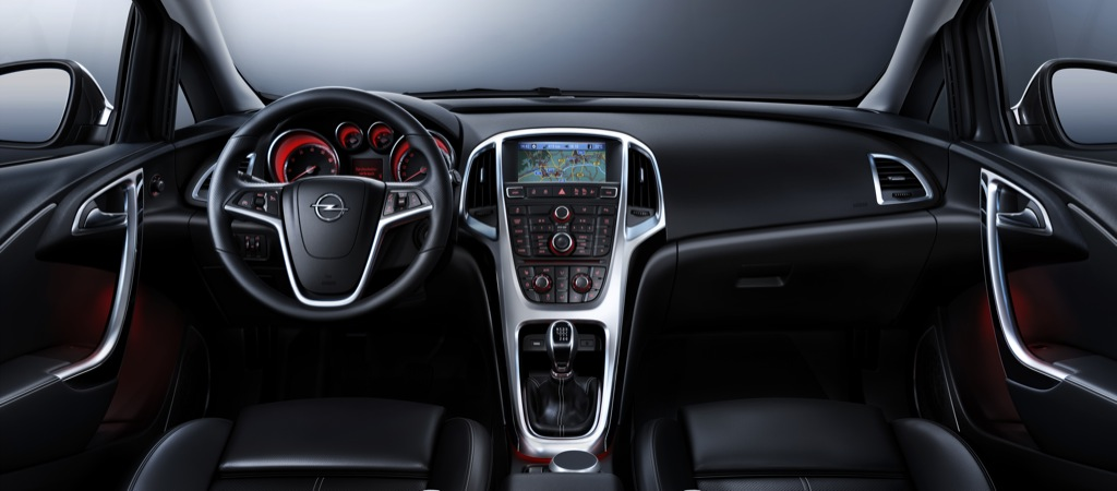 Opel Astra Interior Revealed, Pics Inside - autoevolution