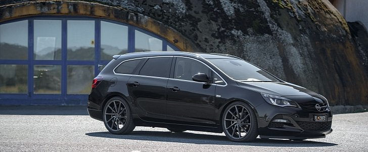 Opel Astra J Wagon Doubles Its Value With Vossen Cvt