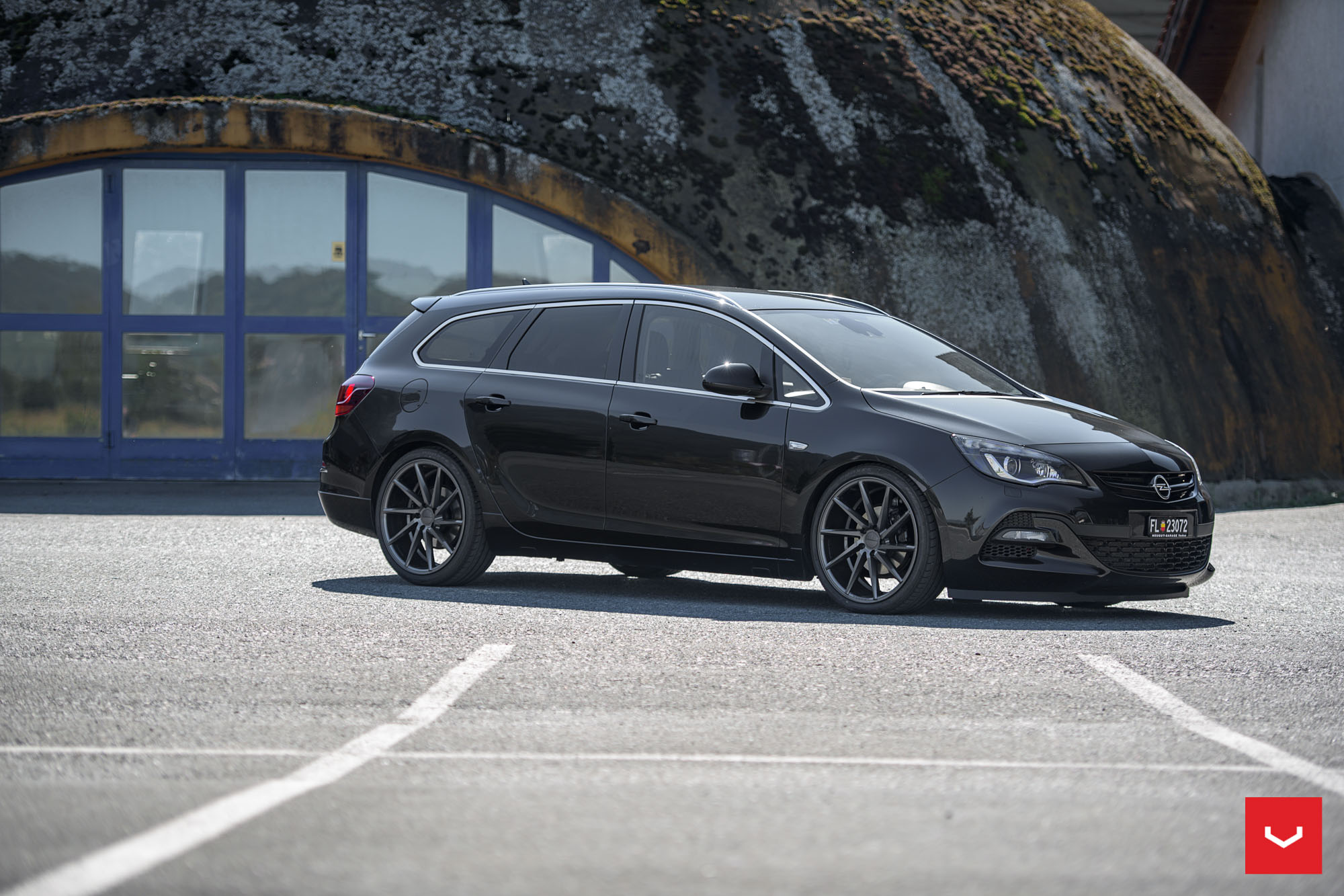 Opel Astra J Wagon Doubles Its Value With Vossen Cvt Wheels