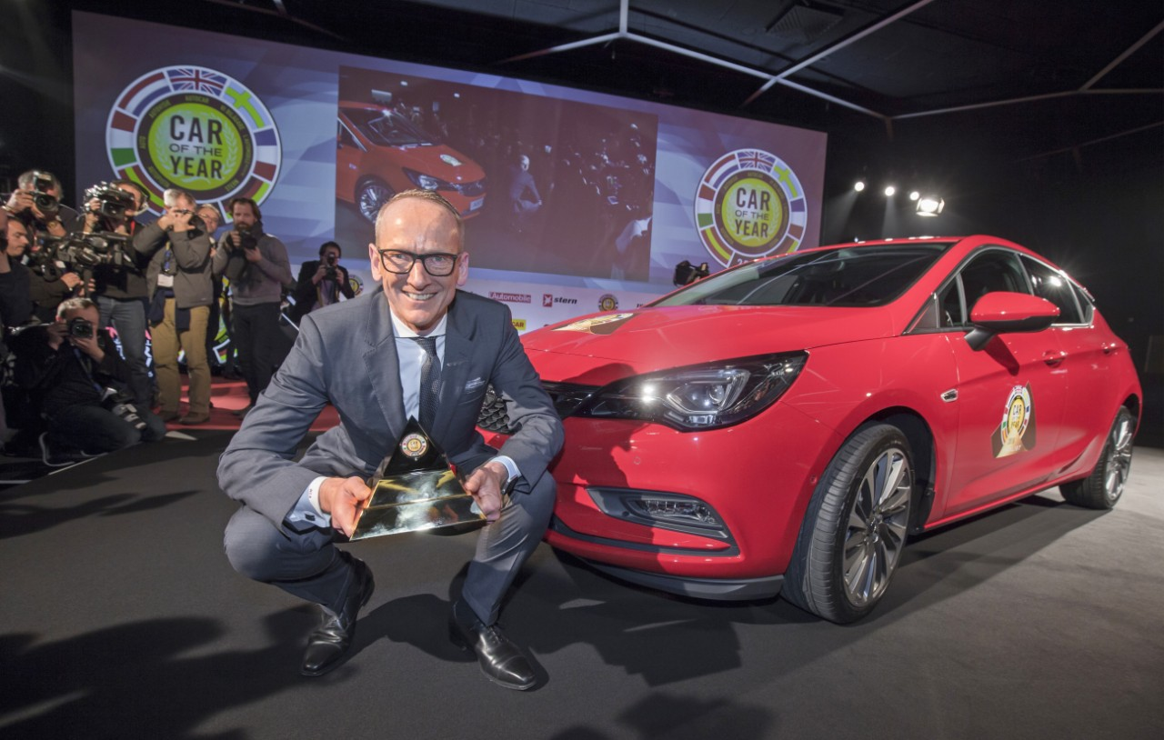 opel astra k wins 2016 european car of the year autoevolution. Black Bedroom Furniture Sets. Home Design Ideas