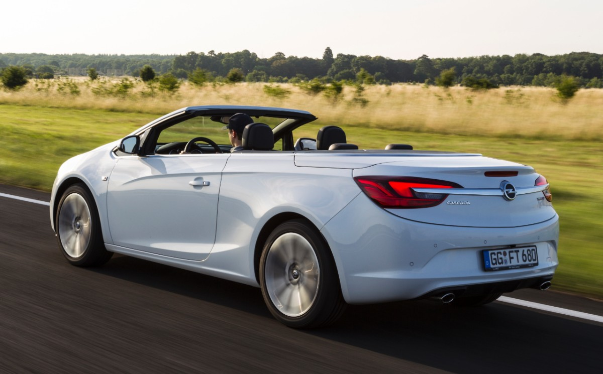 opel cascada gets new 1 6 liter turbo with 200 hp and 300. Black Bedroom Furniture Sets. Home Design Ideas