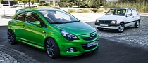 Opel Corsa Celebrates 30th Anniversary