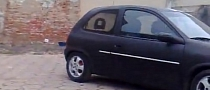 Opel Corsa Used to Bring Down a Wall [Video]
