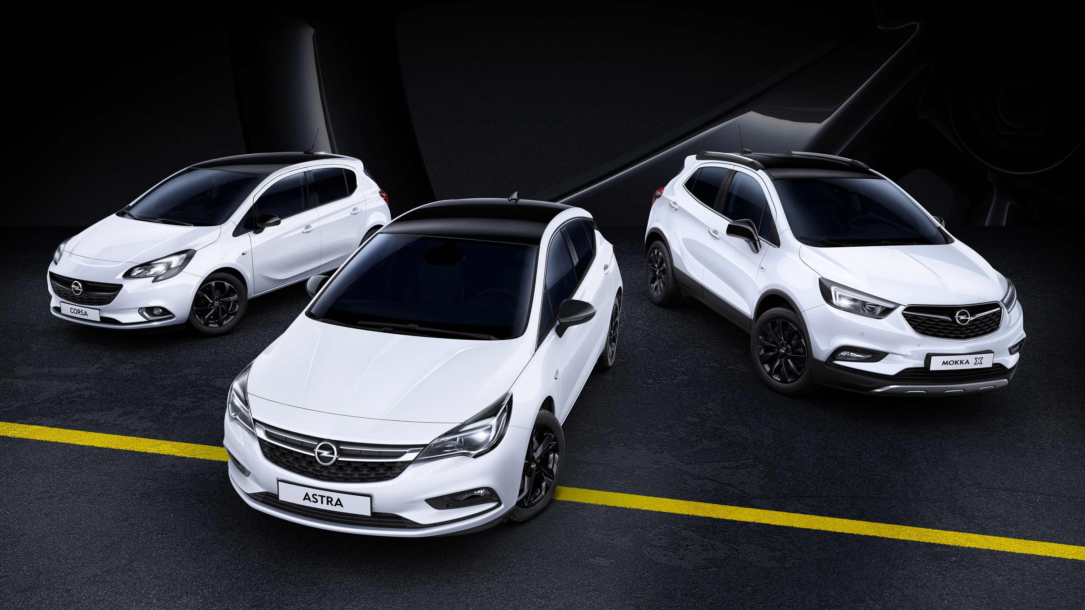 opel debuts black themed special editions of corsa astra and mokka x autoevolution. Black Bedroom Furniture Sets. Home Design Ideas