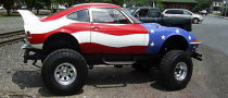 Opel GT with CJ5 Jeep Drivetrain for Sale on eBay