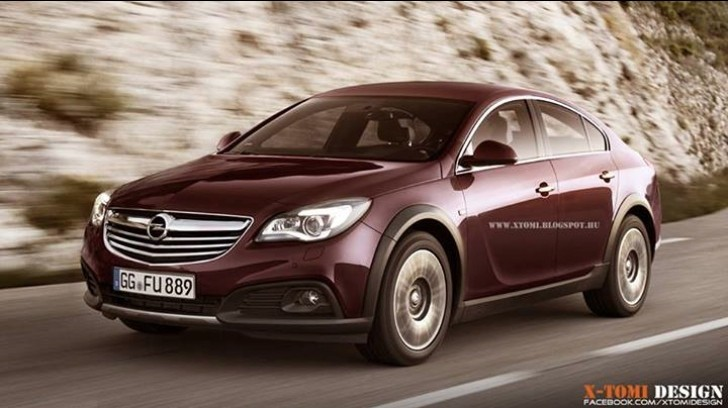Opel Insignia Country Sedan Rendering
