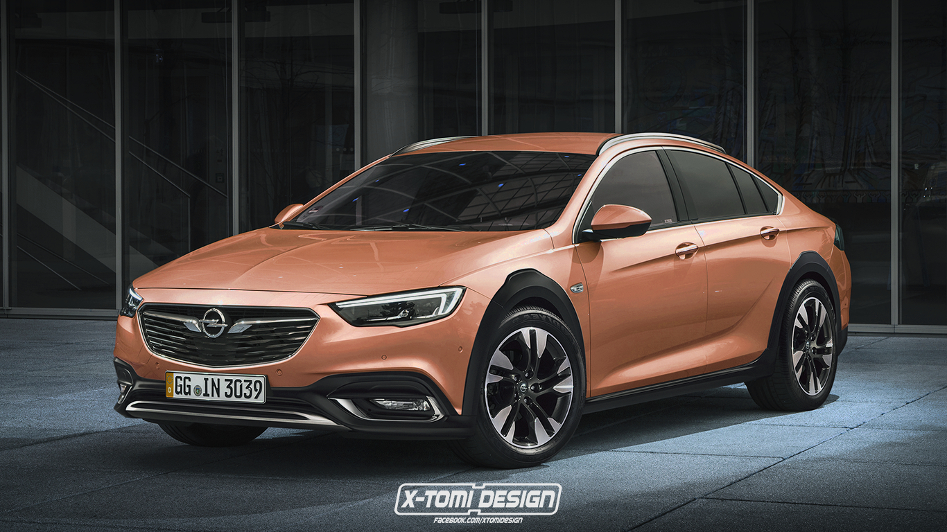 opel insignia country tourer sedan is the s60 cross country rival rendering autoevolution. Black Bedroom Furniture Sets. Home Design Ideas