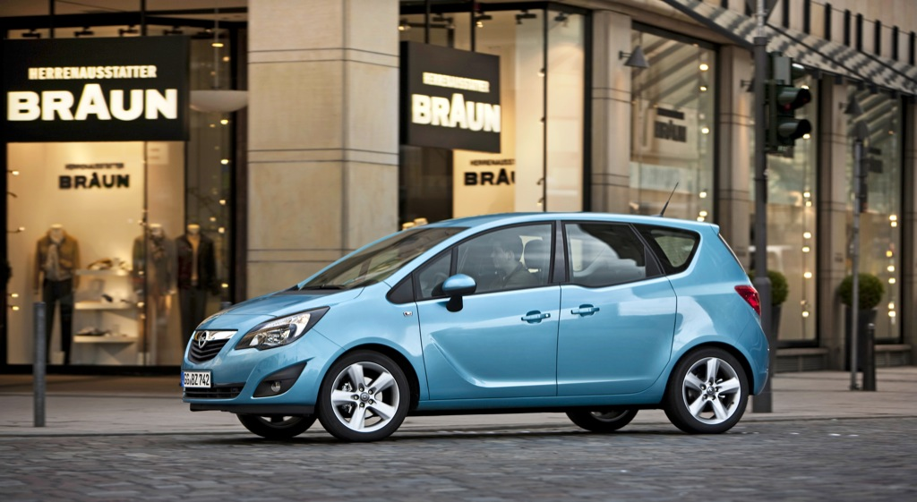opel meriva upgraded with three new diesel engines autoevolution. Black Bedroom Furniture Sets. Home Design Ideas