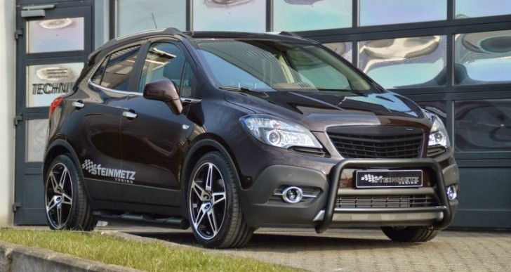 opel mokka customized by steinmetz tuning video. Black Bedroom Furniture Sets. Home Design Ideas