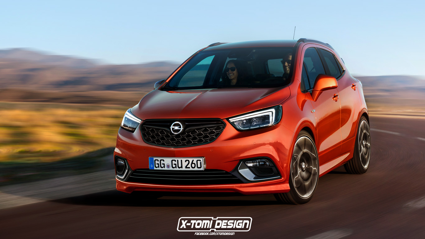 opel mokka x opc rendering looks so good they 39 ll have to make it autoevolution. Black Bedroom Furniture Sets. Home Design Ideas