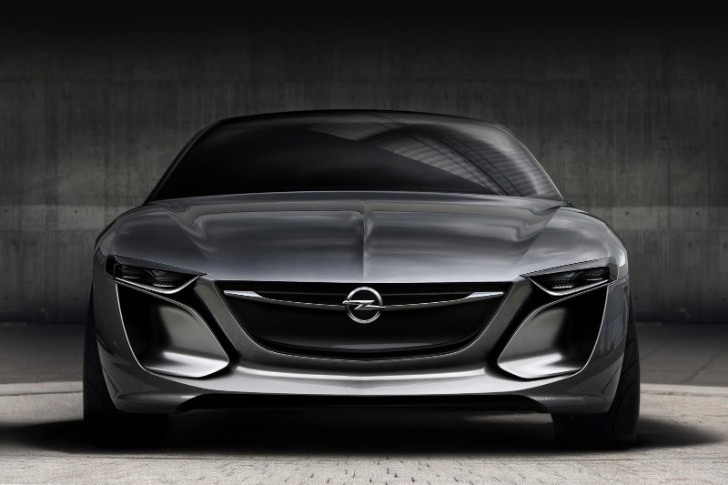 Opel Monza Concept Teased Ahead of Frankfurt Debut