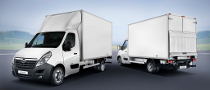 Opel Movano Cab Versions Up for Grabs