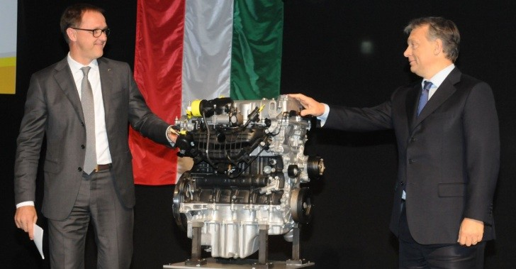 Opel Opens €500 Million Engine Factory in Hungary