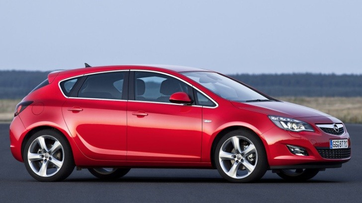 Opel Planning to Stop Astra Production in Germany in 2015