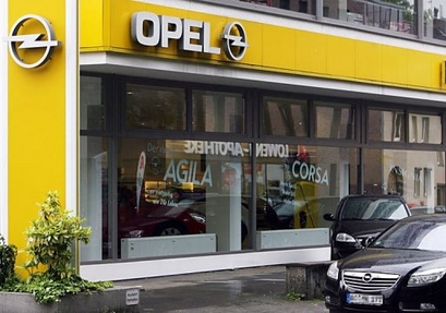 opel to work on brand identity with new showroom standards autoevolution. Black Bedroom Furniture Sets. Home Design Ideas