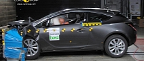 Opel / Vauxhall Astra GTC Gets Five-Star Euro NCAP Rating