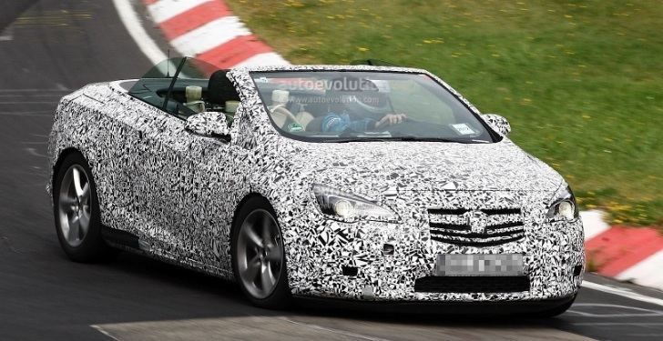 Opel / Vauxhall Cascada Convertible to Get New 1.6-Liter Turbo