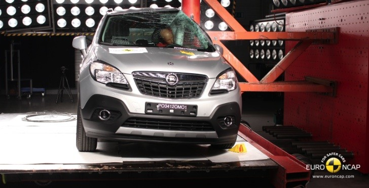 Opel / Vauxhall Mokka Scores 5-Star Euro NCAP Rating [Video]