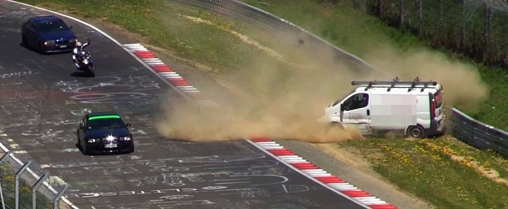 Opel Vivaro's Ridiculous Nurburgring Crash: Why Most Vans Should Avoid the Track