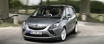 Opel Zafira Tourer Gets 200 HP 1.6 SIDI Turbo Engine