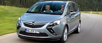 Opel Zafira Tourer Gets Powerful 1.6-Liter SIDI Turbo Petrol Engine