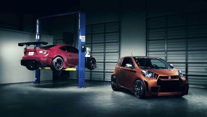 OpenRoad Scion iQ Looks Fiercer than a Rocket Bunny FR-S