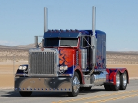 The original Optimus Prime truck
