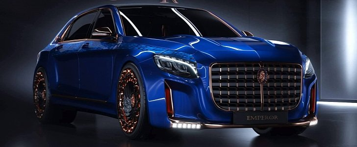 Opulence Galore Scaldarsi Emperor I Mercedes Maybach S600