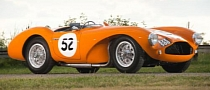 Orange 1955 Aston Martin DB3S Heads to Auction