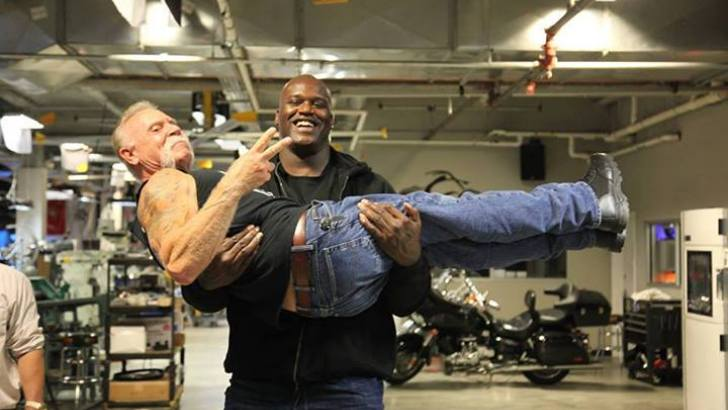 Orange County Choppers Builds 7 Bike For Shaquille O Neal