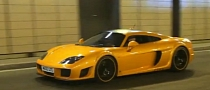 Orange Noble M600 in Monaco [Video]