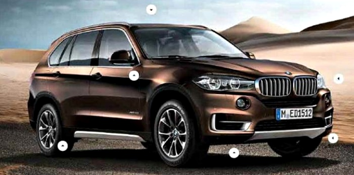 Ordering Guides for the New BMW F15 X5 Leaked