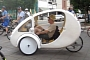 Organic Transit Vehicles ELF - Solar-Assisted Trike [Video]