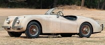 Original 1954 Jaguar XK120 Roadster Sat in a Barn for Decades, Could Be Yours