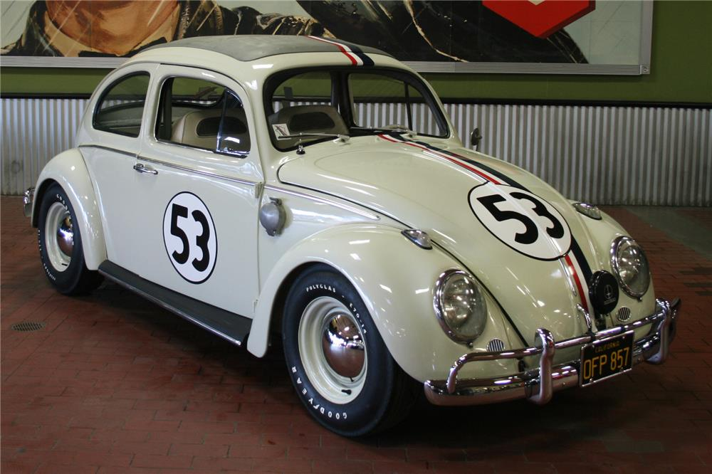 Original Herbie Love Bug is Heading to Auction at No Reserve - autoevolution