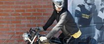 Orlando Bloom Rides Norton Commando 961