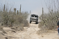Oshkosh LCV racing in the Baja 1000